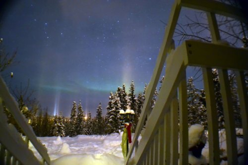 Northern Lights at Hidden Valley B&B, 500px