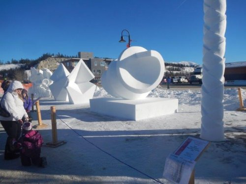 Yukon Sourdough Rendezvous Snow Sculpting
