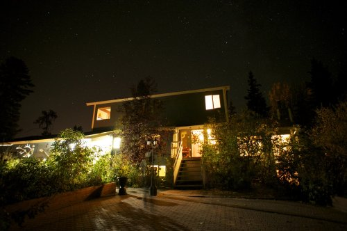 Starry Night at Yukon B&B in Whitehorse
