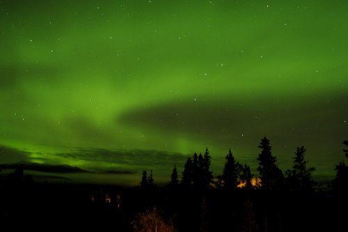 Northern Lights, Whitehorse, Yukon