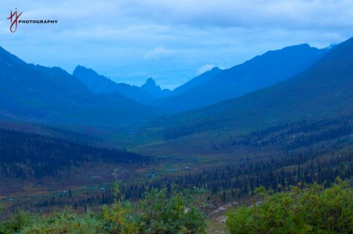 Tombstone Park along Dempster Highway