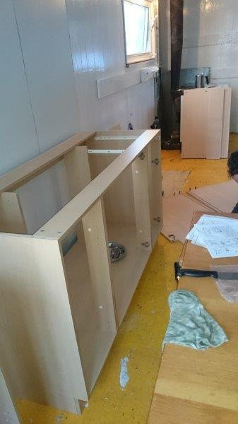Cabinets floor boxes