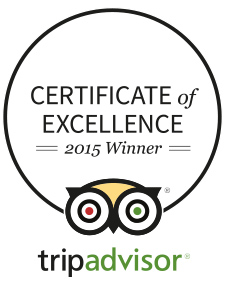Certificate of Excellence - Hidden Valley B&B