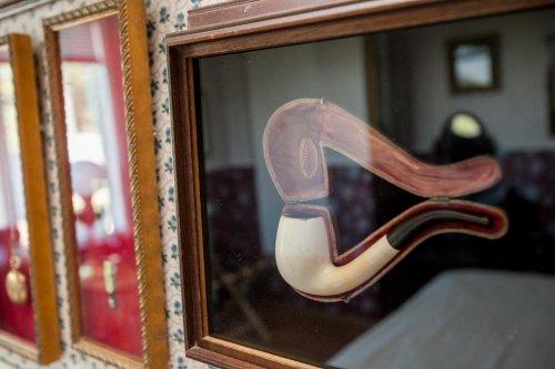 antique tobacco pipe