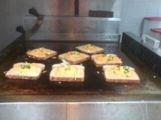 Making Garden Sunshine Toast - Step 2