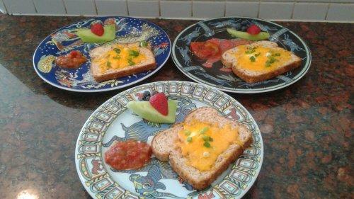 Garden Sunshine Toast Breakfast