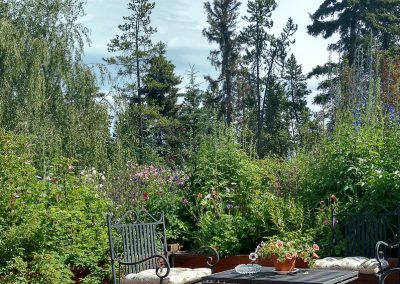 Courtyard View, Hidden Valley Bed and Breakfast, Whitehorse, Yukon