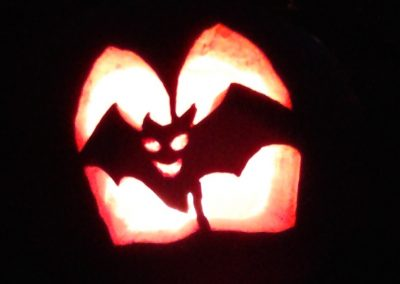 Bat Pumpkin, Hidden Valley B&B, Yukon