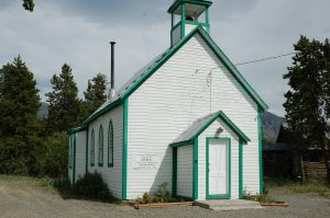 Old Church, Carcross, Yukon