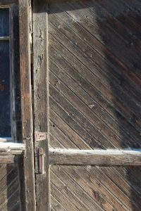 Weathered Door, Dawson City, Yukon