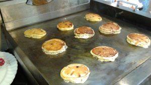 Buttermilk Pancakes at Hidden Valley B&B, Whitehorse, Yukon, Breakfast