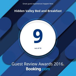 Hidden Valley B&B wins 2016 Guest Review Award, Whitehorse, Yukon