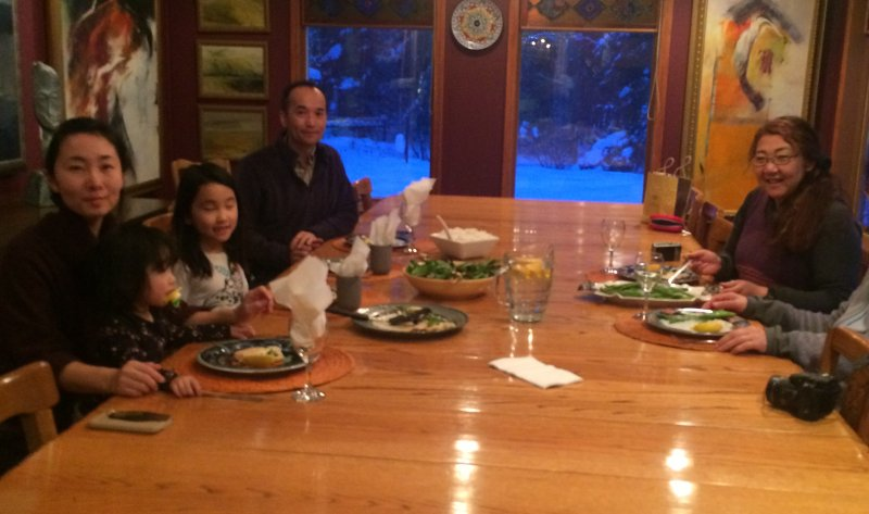 Hidden Valley B&B Guests from Japan