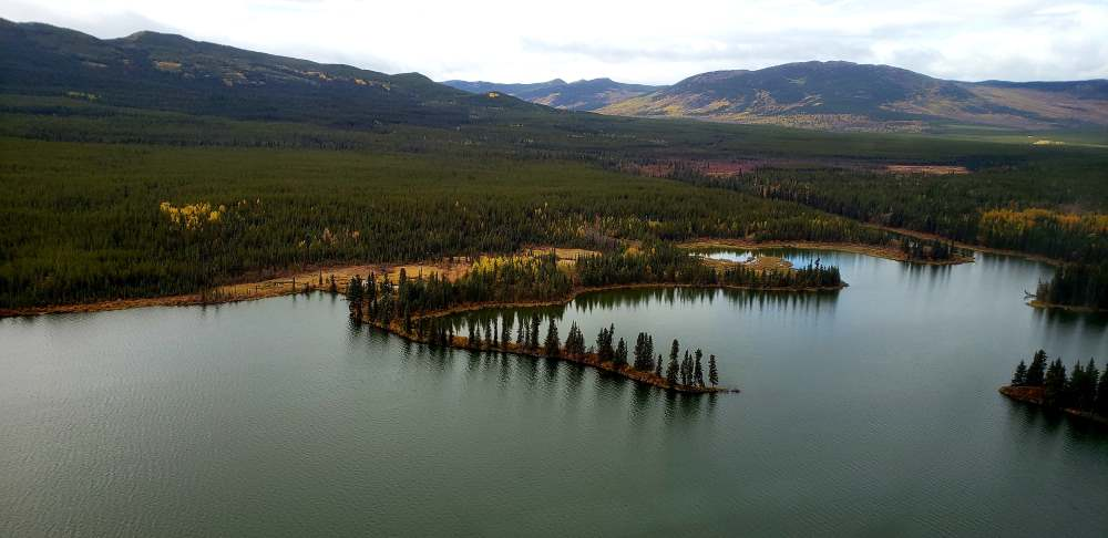 Arial View of Yukon Territory