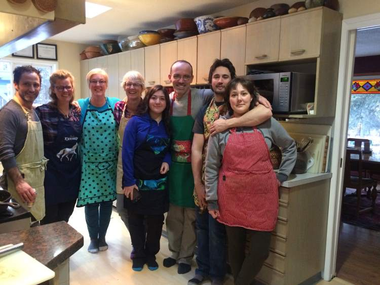 Pierogi Chefs at Whitehorse B&B